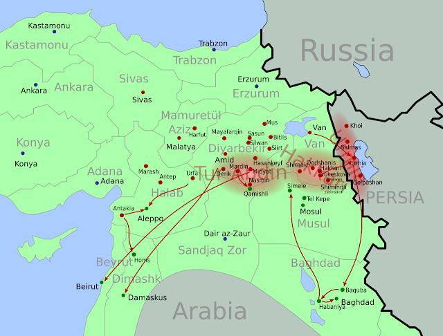 El genocidio Asirio (también conocido como Sayfo o Seyfo)