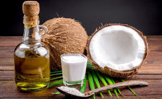 produk minyak dan santan dari buah kelapa