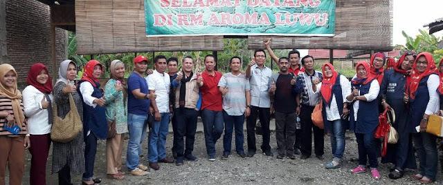 Saudagar Asal Papua Dijamu Khusus oleh H Ismail di Belopa
