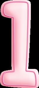 Pink Letters. Letras Rosadas.