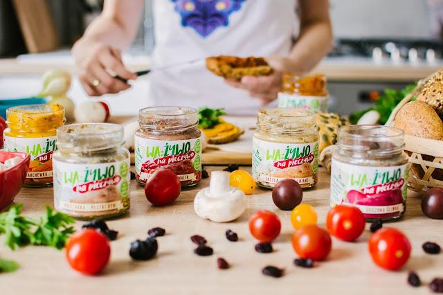Wa:żywo na pieczywo - naturalne i zdrowe pasty kanapkowe z polskich warzyw