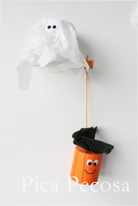 como-hacer-sombrero-bruja-halloween-diy-bolsa-papel-reciclada-calabaza-fantasma-tubo-carton