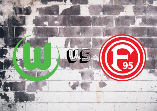 Wolfsburg vs Fortuna Düsseldorf  Resumen