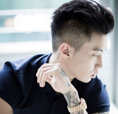 Fade Undercut Korean Haircut For Men (Hairstyle Updates - www.hairstyleupdates.com