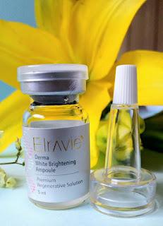 Cách dùng Elravie Derma White Brightening Ampoule