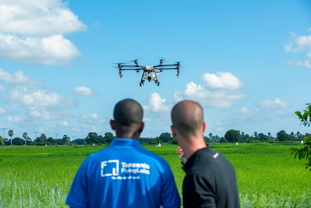 @DJIGlobal Pioneers Fight Against #Malaria In #Africa With Spray #Drones