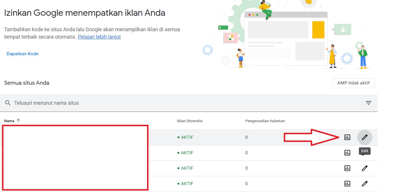 Cara Mengaktifkan Iklan Vinyet di Google Adsense