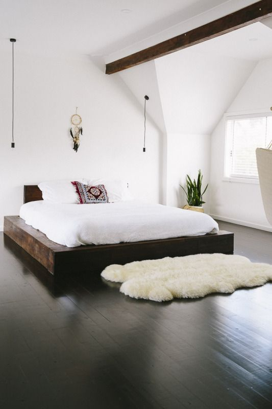 trendy minimalist bedroom design