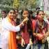 मिथिला विश्वविद्यालय छात्रसंघ चुनाव में जीत पर मधेपुरा एबीवीपी ने मनाया जश्न