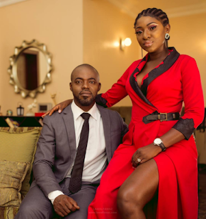 Yvonne jegede and her husband in new photos