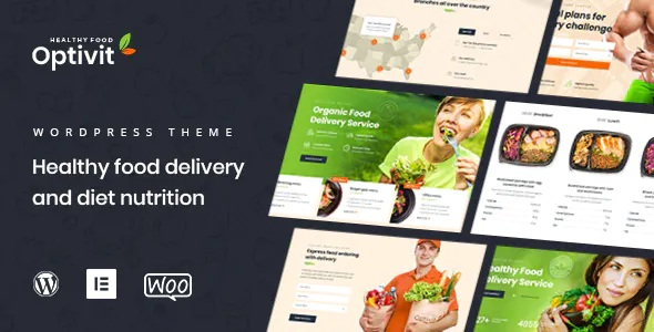 Best Healthy Food Delivery WordPress Theme