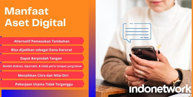 Manfaat Aset Digital