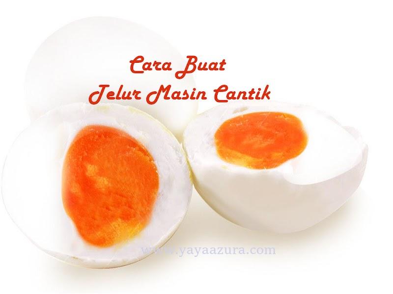 Buat Sendiri Telur Masin Cantik, Mudah Je Sebenarnya