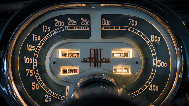 Car Instrument Panel Labeled : Just a car guy fiat v supersonic instrument panel