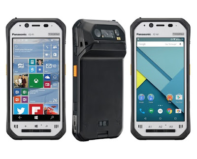 Panasonic Toughpad FZ-F1 with Android and Toughpad FZ-N1