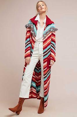 Long Boho Coat