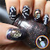 Skull Nail Rhinestones & Freehand Bones - BeautyBigBang Review