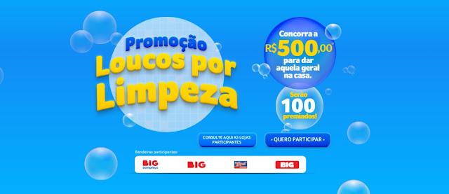 Promoção Loucos Por Limpeza 2020 Big Bompreço