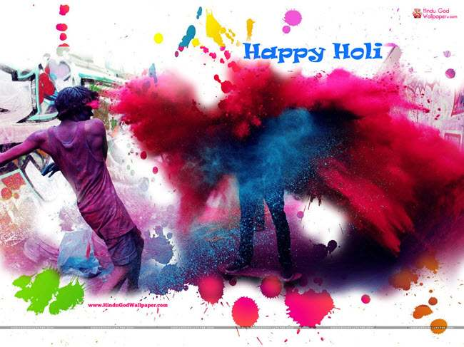 Funny Holi Wishes Messages