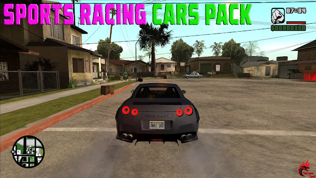 GTA San Andreas Sports Racing Cars Pack Latest Version