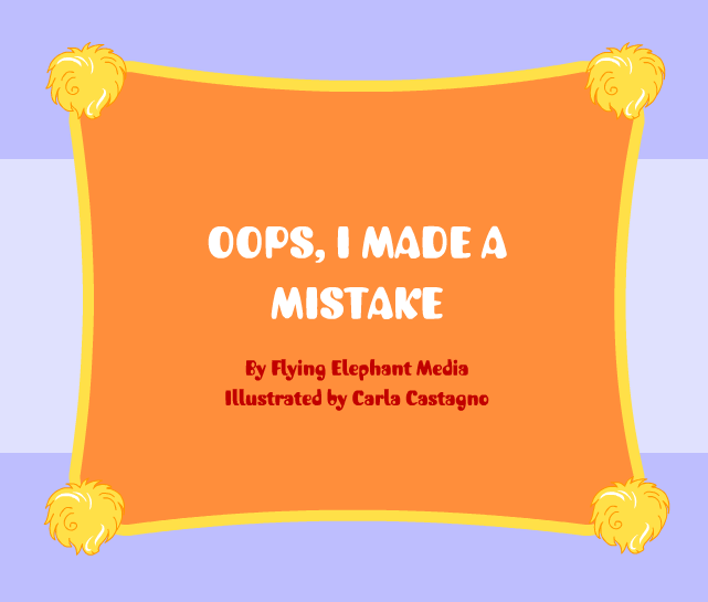 English for Kids: Song 27 - Oops, I made a Mistake