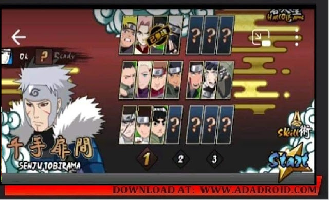 Download Naruto Senki V2.00 by RE Apk