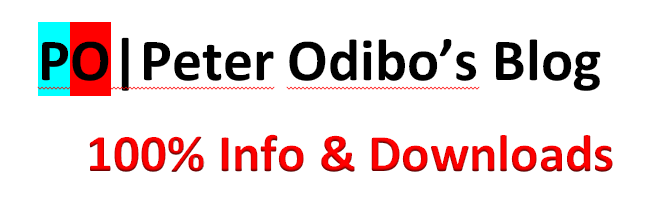 Peter Odibo's Blog ~ 100% info's and Downloads