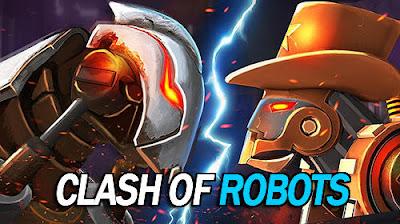 Clash Of Robots Apk Mod + Data OBB - Jayawaru