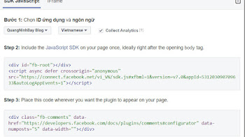 Hướng dẫn chèn Facebook Comment nhanh cho Website Blogger (Blogspot) quản lý cmt dễ dàng