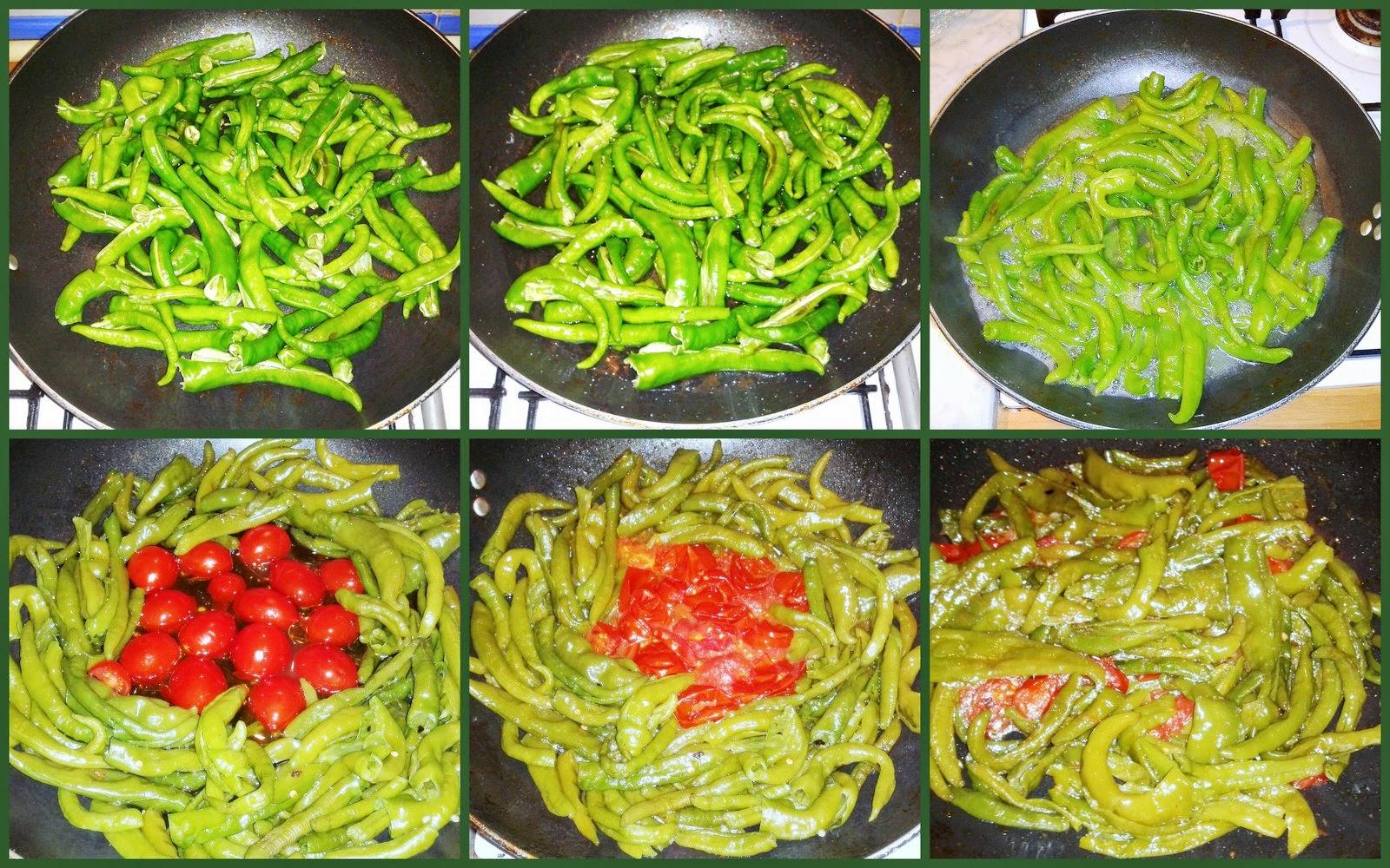 Friggitelli alla napoletana for Cucinare friggitelli