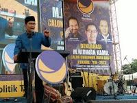 Ridwan Kamil Marah Besar, Ancam Polisikan Pendukung Anies-Sandi Yg Satu Ini! Share!