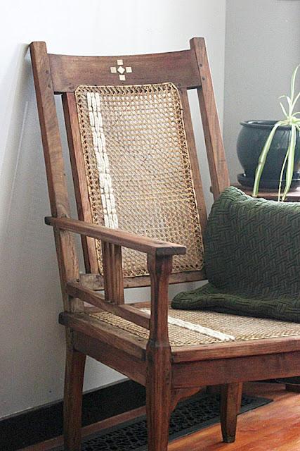 Antique Boho Chair