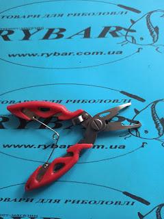 Плоскогубці риболовні (без ножнів, червоні)
