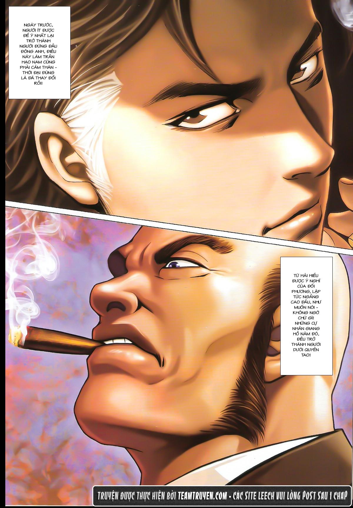 Người Trong Giang Hồ chapter 1632: ác chiến la tâm tả trang 9
