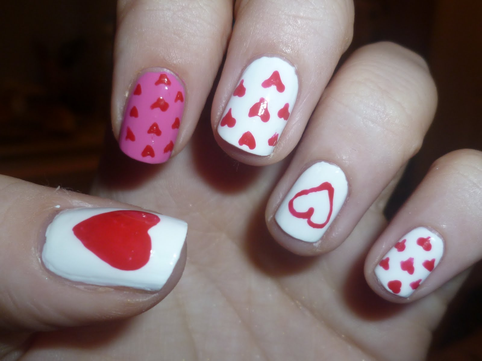 The Little Curly Girl Nail Art