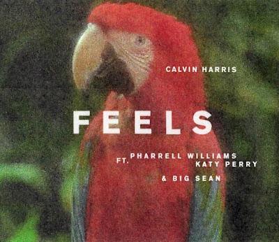 Calvin Harris - Feels Artwork