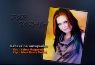 Lirik Lagu Sa'bara'na Untayanko (Salma Margareth)