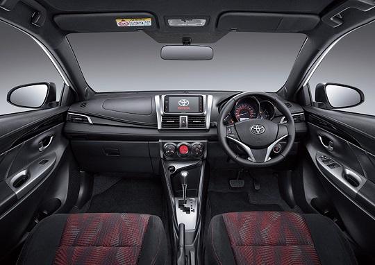 Interior Toyota Yaris Tahun 2018