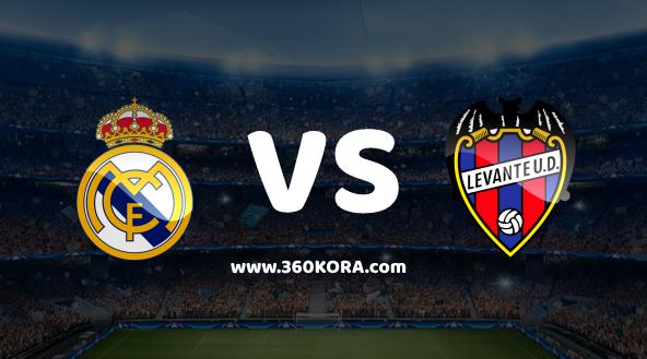 مشاهدة مباراة ليفانتي وريال مدريد بث مباشر