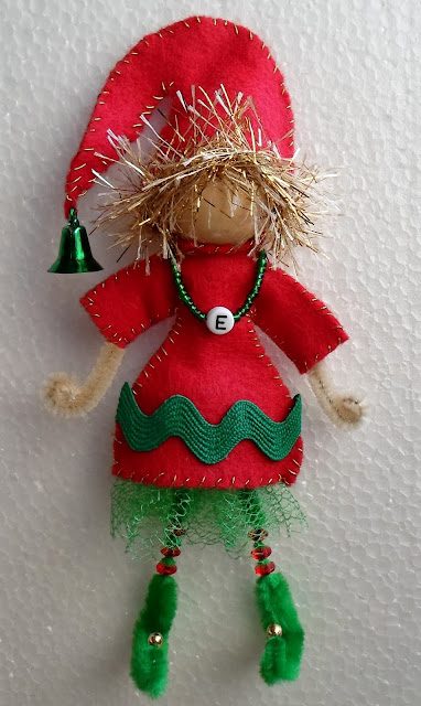 Happier Than A Pig In Mud Craft Your Own Elf From A Bead