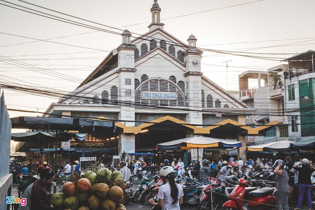Chợ thực phẩm Sa Đéc