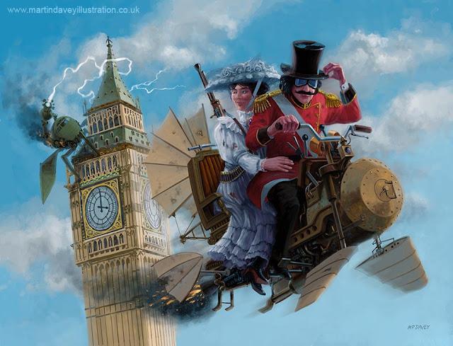 Edwardian steampunk escape adventure