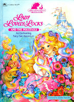 Lady Lovely Locks PixiTails childrens book Fairy Tale Adventure blonde doll