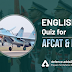 English Quiz for AFCAT and INET: 20 Dec 2019