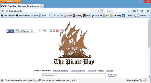 PirateBrowser portable