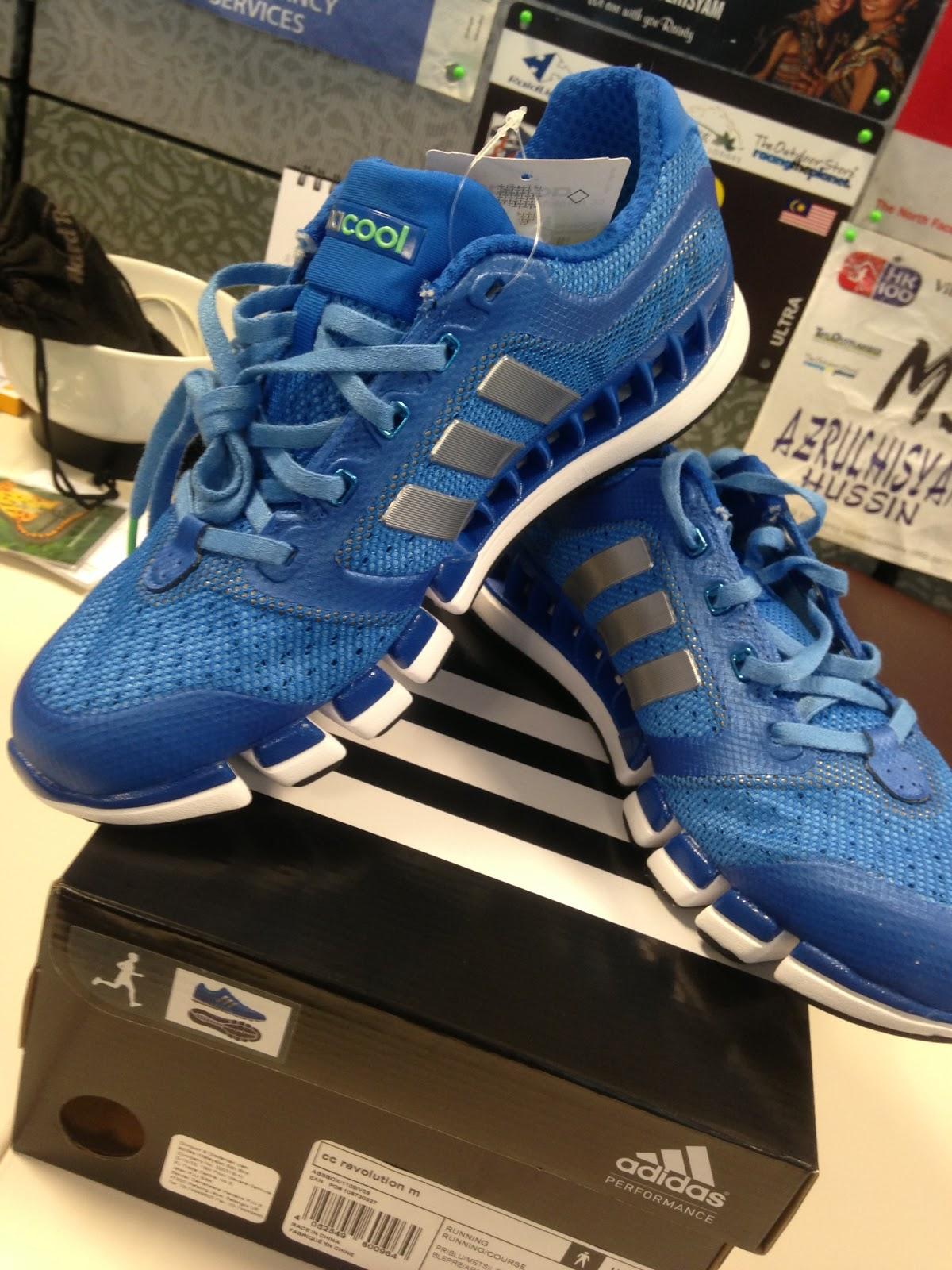 huge selection of 88f01 89263 The Running Deo: Unveiling the adidas climacool Revolution