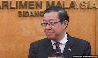 Dana GST 'dirompak': Pembangkang bawa usul rujuk Lim ke j'kuasa parlimen