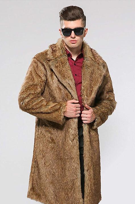 Fur Coats Jackets For Men