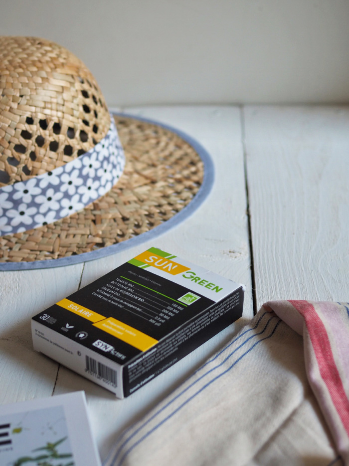 Complément alimentaire protection solaire Sun Green