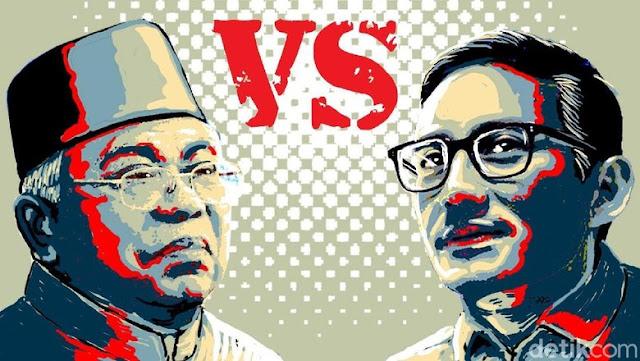 Tanggapan Netizen Paska Debat Cawapres Ma'ruf Amin Vs Sandiaga Uno 2019